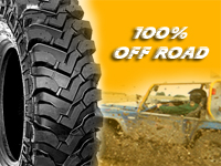 Pneus para Jipes - 100% off road